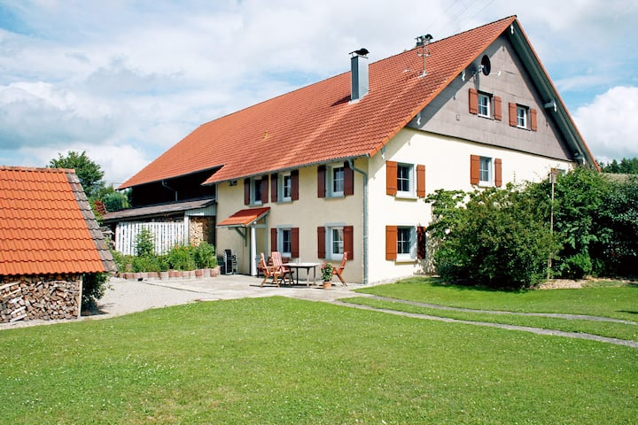 Urig-romantische Fewo in toller Lage im Allgäu