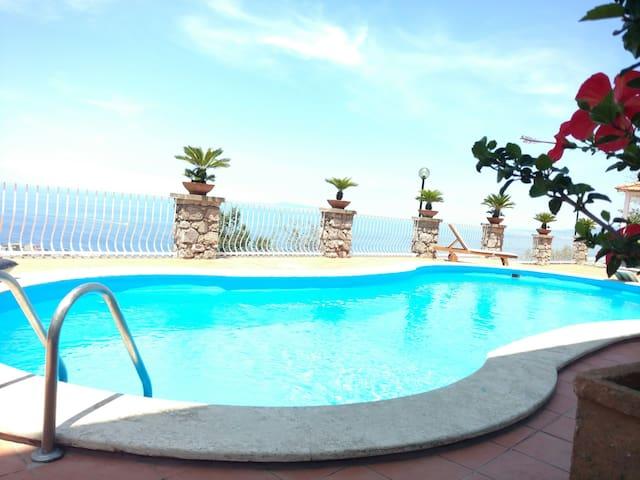Villa Sara private pool sea view - Sorrento - Villa