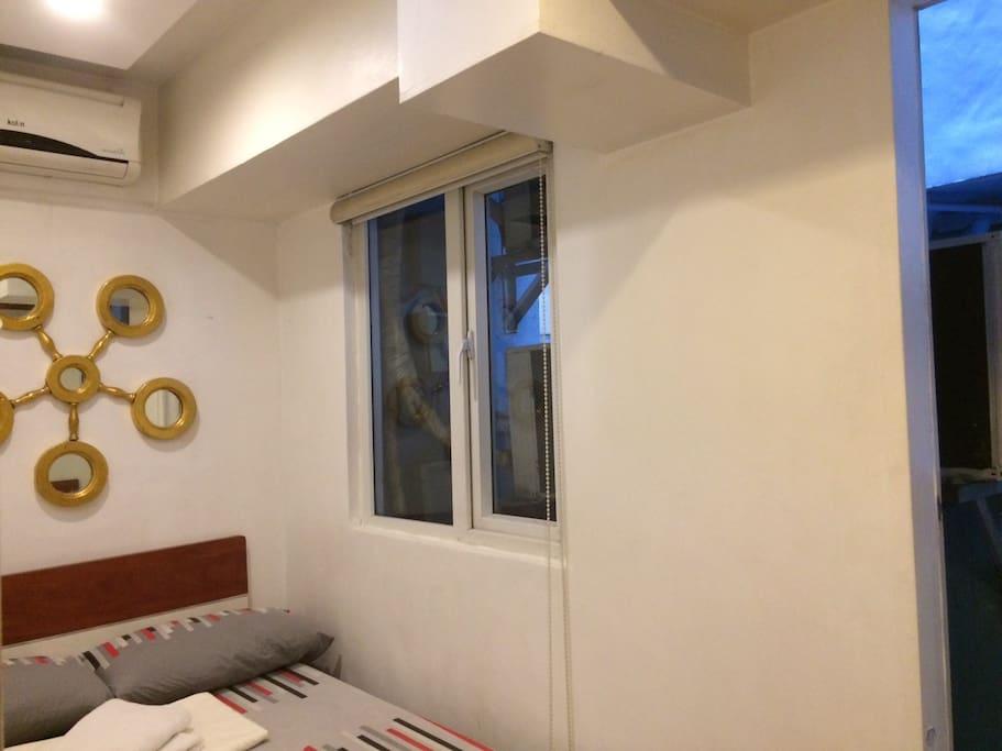 Room 2 Semi Double with little balcony
