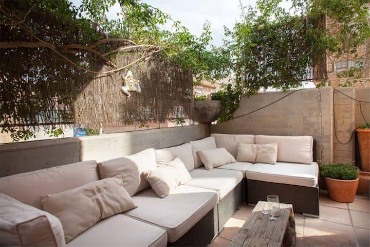 Loft de dos habitaciones con terraza y baño - Murcia - Loft
