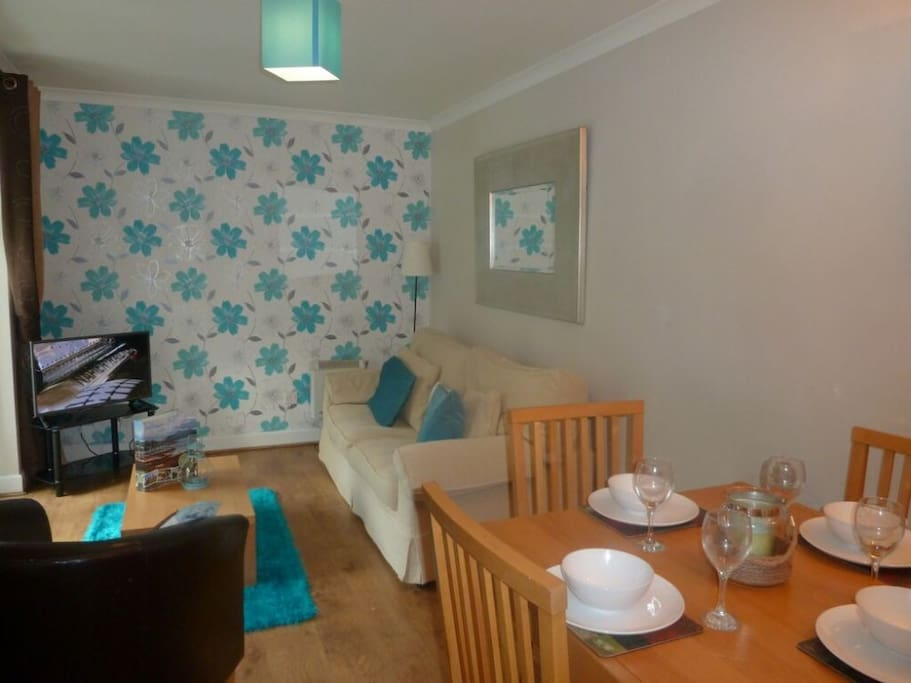Bluebell Hill, lounge/dining area,  Lakes Cottage Holidays