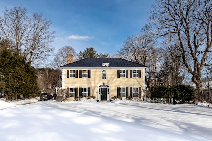 Vermont/Dartmouth getaway home with hot tub