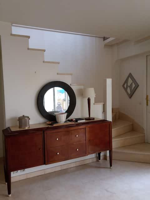 Triplex house near  paris 19/20  bedroom 2