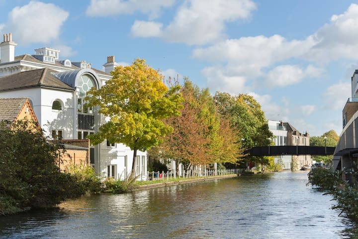Local canal walks to Camden and other parts of London