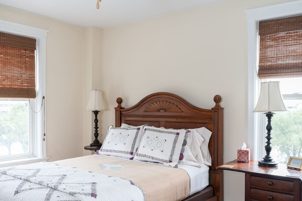 The Abbey features a Queen-sized bed of the highest quality