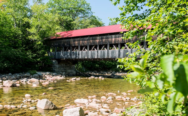 Oodles of scenic drives, covered bridges, hiking, climbing and cycling right at your doorstep