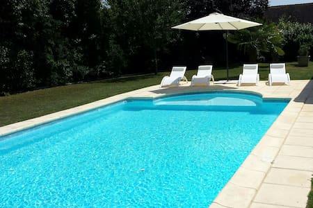 Lascaux Périgord noir et piscine à volonté - Auriac-du-Périgord - Casa