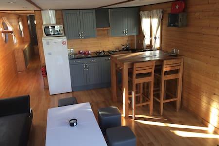 Beau logement flottant, 48m2 - Nantes - Barca