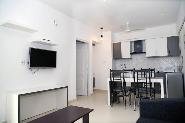 Serviced apartment near Sunrice hospital