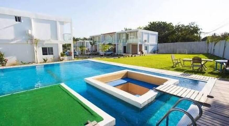 Sky villas for holiday
