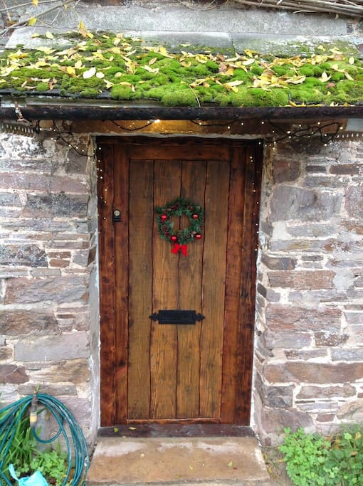 Our fairy tale front door
