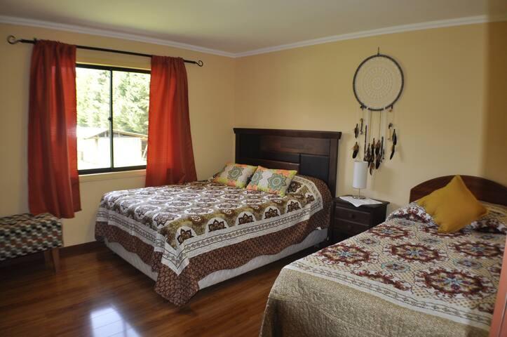 Cómodas habitaciones en Loncoche