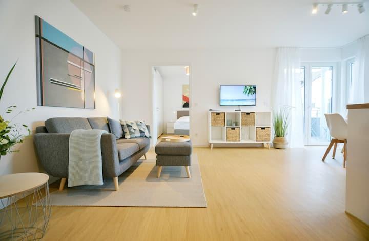 komfortables  2-Zi.-Apartment in Neubau (401)