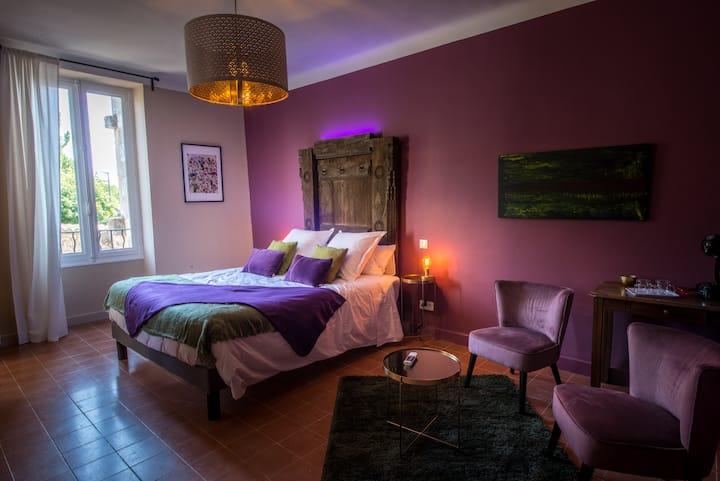 Chambre Figue, chambre d'hôte de prestige Drôme