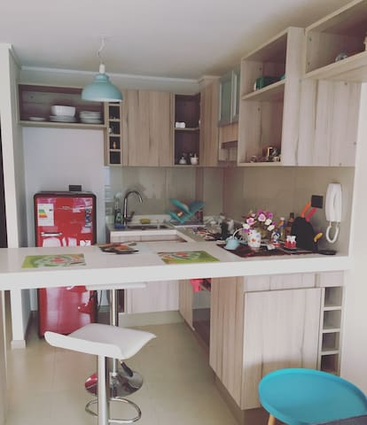 Lovely studio in the nice and safe neighborhood - Ñuñoa - Appartement en résidence
