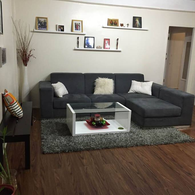 Living room, common space