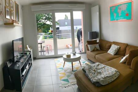 Chambre privée dans beau T3 neuf prox Bordeaux - Eysines