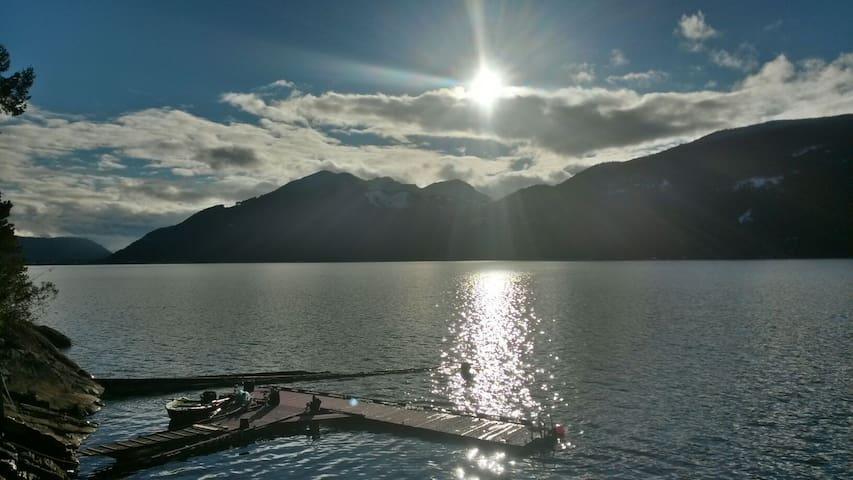 Private Island on Harrison Lake