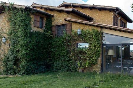 Grande villa con uliveto - Colli-vallicelli - Vila