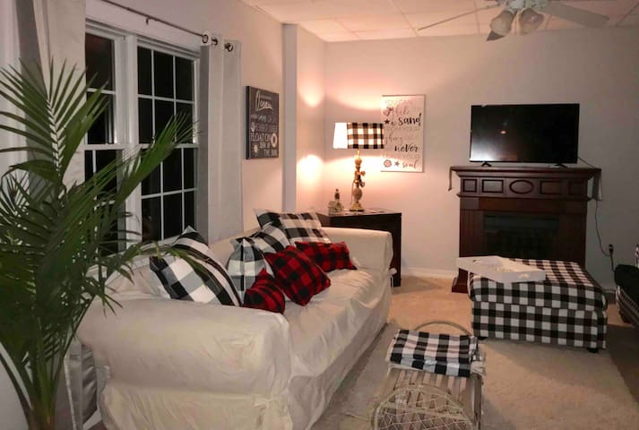 Plaid Paradise large apartment pet friendly
