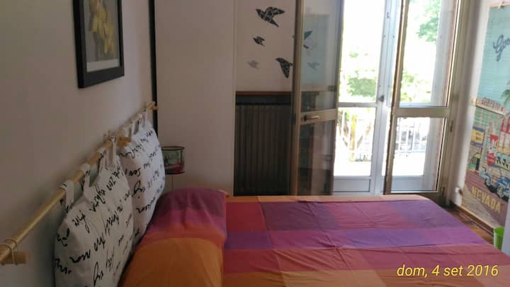 Room with Balcony in Santarcangelo