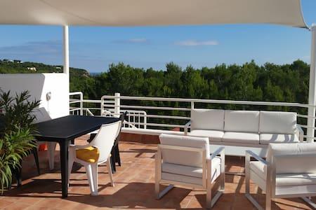 Roof terrace apartment Cala Llenya - Santa Eulària des Riu