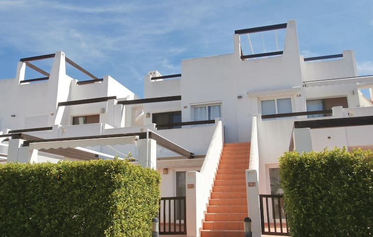 Holiday apartment with 2 bedrooms on 50m² in Condado de Alhama