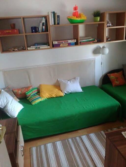 Kt szimpla ágyas szoba
