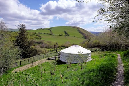 The Orange Yurt, Old Chapel Farm
