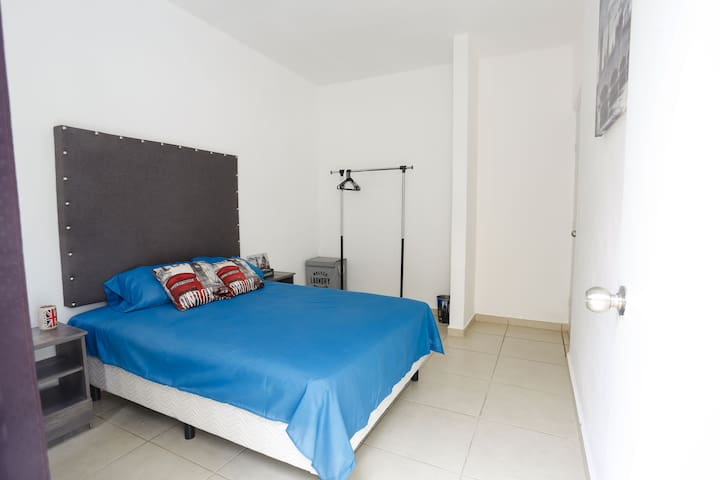 Comfortable and cozy room ideal for one or two guests.