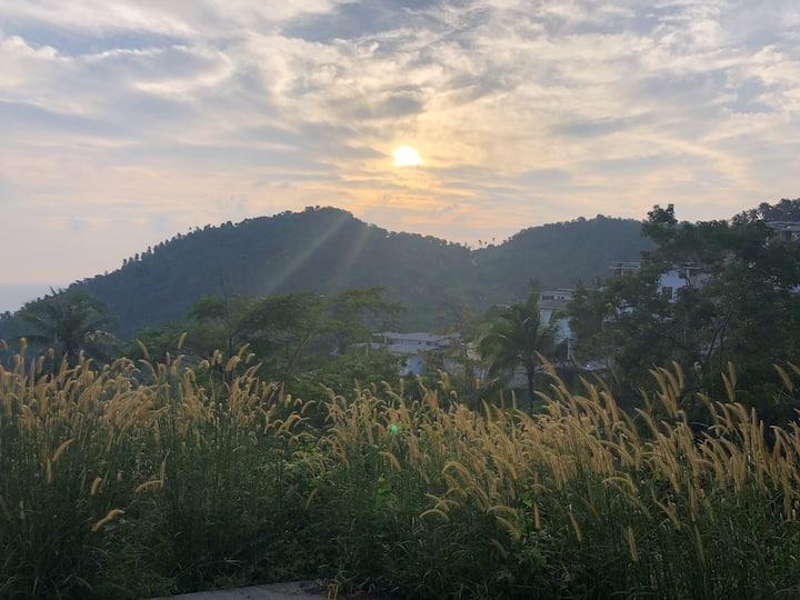 Sunrise photo from mini morning hike