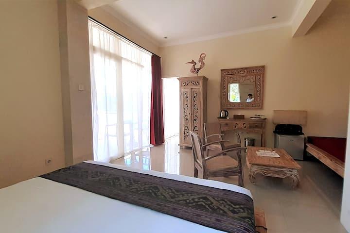 Suite familiale, 2 Chambres, Village à 2 km d'Ubud
