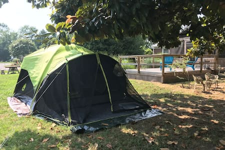 RV parking or tent camping-outside space only