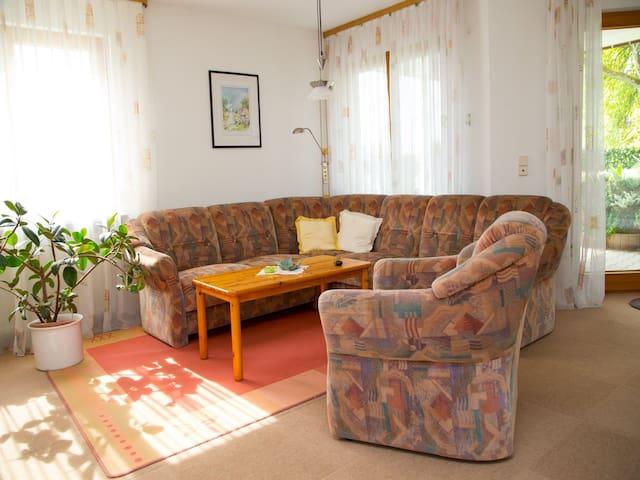 Haus beim Birnbaum, (Sipplingen), Ferienwohnung, 75qm, 1 Schlafzimmer, 1 Wohn-/Schlafzimmer, max. 5 Personen