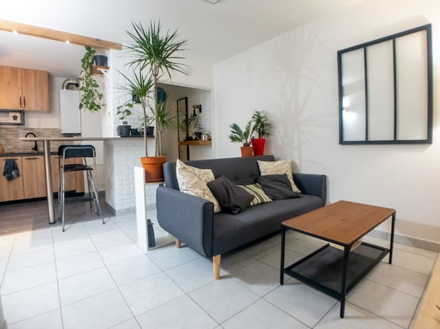 Nature Apartment 10 minutes from Bellecour