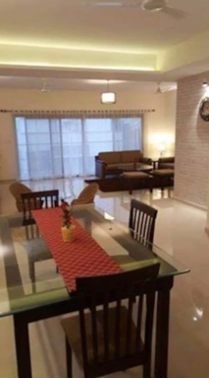 Luxury Home 3 BHK Stay near Hebbal