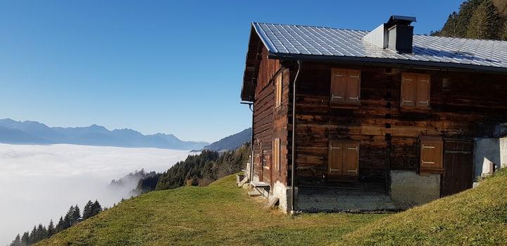 """Berghütte """"Schnider"""" im Großen Walsertal"""