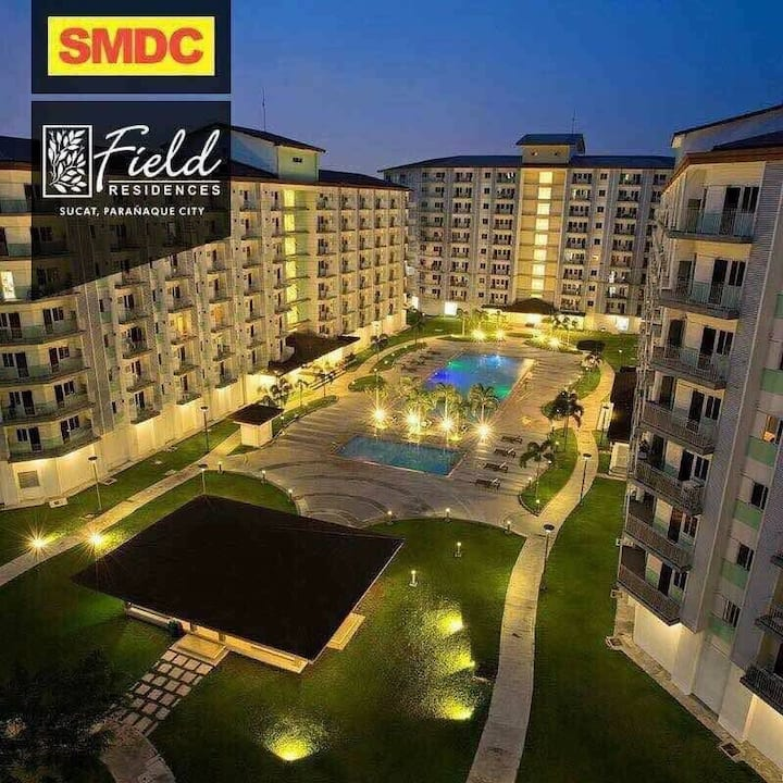 Your cozy home near Airport-Field Residences