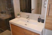 En-suite with spacious shower cubicle