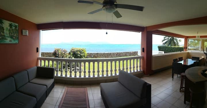 Appartement de prestige bord de mer Punaauia