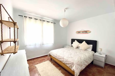 1- Double Room in front of the beach