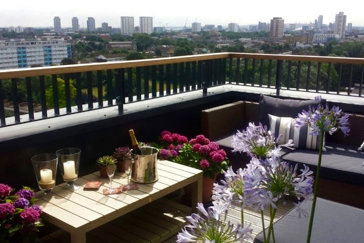 Designer Penthouse on Regent Canal - London - Apartmen