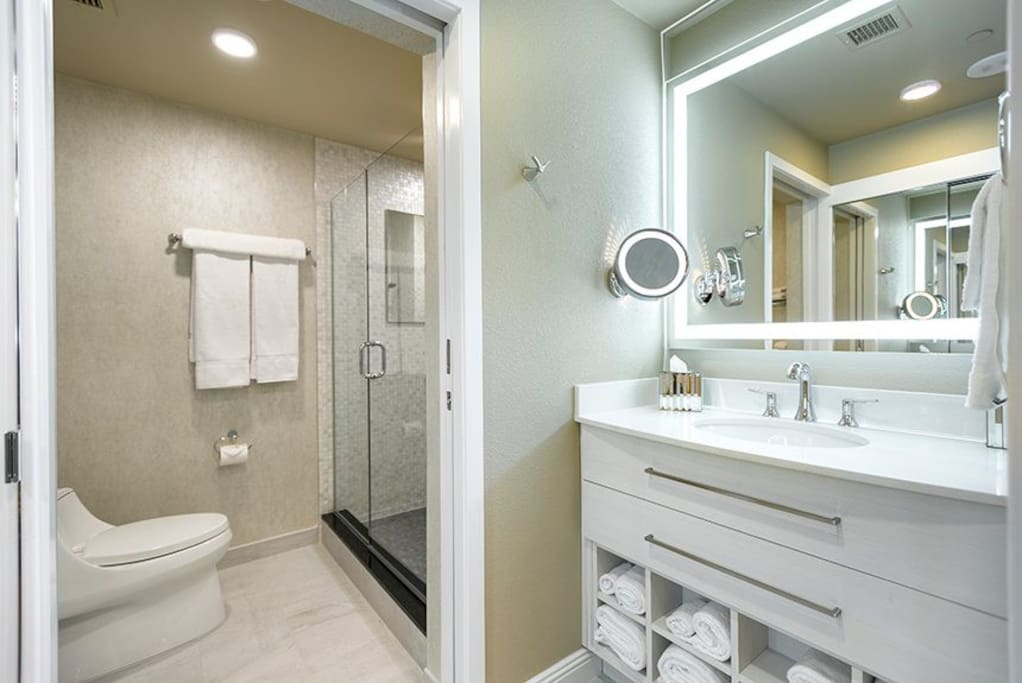 Private luxury bathroom