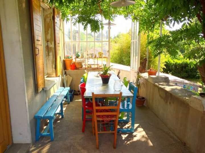 Maison cévenole en Ardèche