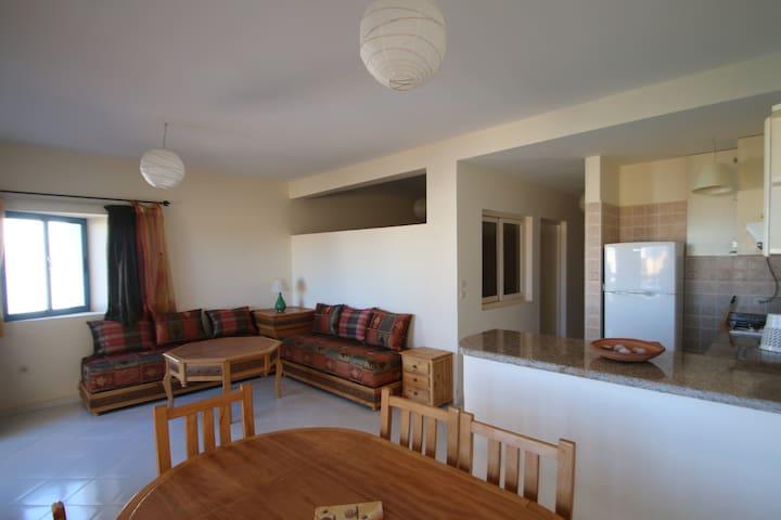 Bel appartement tout confort proche océan - Sidi Ifni