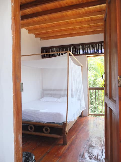 Private Double Room - Hostel Casa Surf Mar Azul