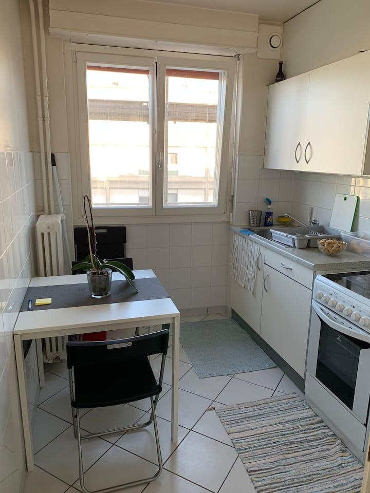 Appartement agréable à côté de L'Arve