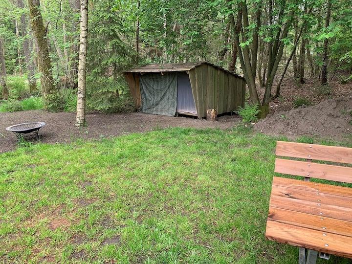 Shelter ved Gudenåen
