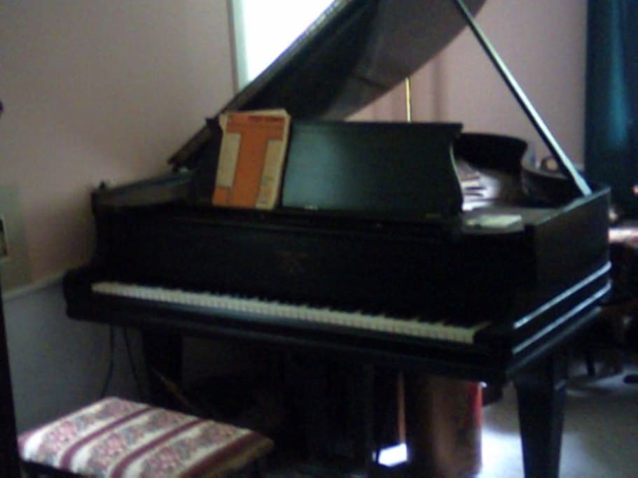 Do you play? It's a Steinway