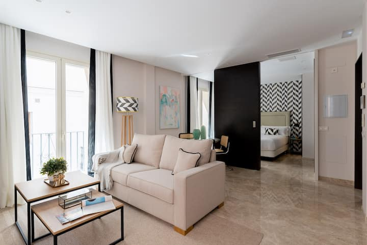 Design & luxury apartment in the best of Seville